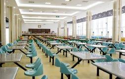 Foto interior do restaurante vazio Imagens de Stock