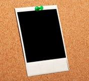 Foto istante nera fotografie stock libere da diritti