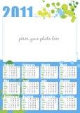 Foto-Kalender auf englisch für 2011 Stockfotos