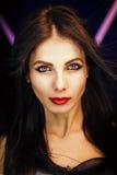 Foto luminosa con una bella ragazza Fotografia Stock Libera da Diritti