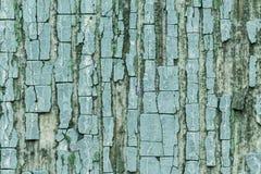 Foto macra Textura de una pintura azul vieja foto de archivo