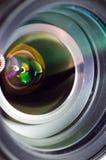 Foto macro da lente imagem de stock