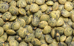 Foto macro das lentilhas Foto de Stock