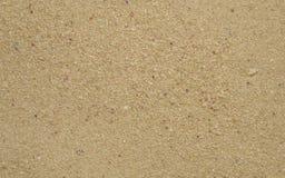 Foto macro de grões de areia Fotos de Stock Royalty Free