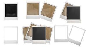 A foto molda o polaroid Álbum de recortes da foto Foto de Stock Royalty Free