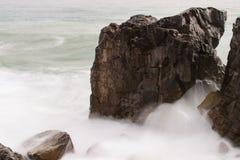Espuma do mar imagem de stock