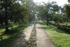Foto na estrada da propriedade Imagens de Stock