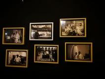 Foto nei telai che mostrano il risultato del ` s del cuoco unico al ristorante del garage di Mixwell, Sungai Tangkas, Immagini Stock Libere da Diritti