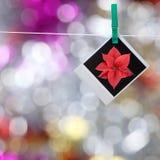 Foto no clothespin Fotos de Stock Royalty Free