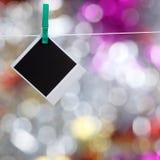 Foto no clothespin Imagem de Stock