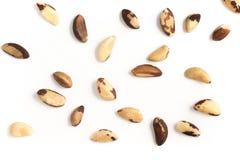 Foto Nuts brasileira do close-up Castanha faz Para Imagem de Stock
