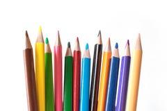 Foto ołówek Ołówek dla rysować materiały Temat biuro Obrazy Stock