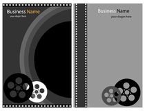 Foto- oder Videobroschüren lizenzfreie abbildung
