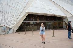 Foto OP bei Sydney Opera House stockfoto