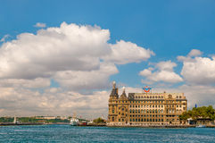 Haydarpasa Costantinopoli immagine stock