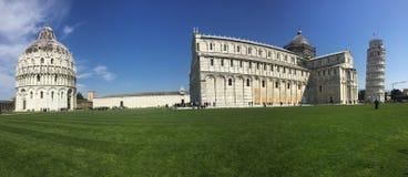 Foto panorâmico em Pisa fotografia de stock