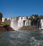 Foto panorâmico Foz de Iguaçu Fotos de Stock Royalty Free