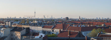 Foto panoramica: Berlino Immagini Stock