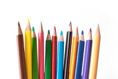 Foto of a pencil. Pencil for drawing. Stationery. The subject of the office. Stock Images