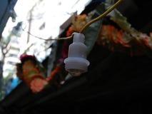 Foto pequena da luz do diodo emissor de luz Fotografia de Stock