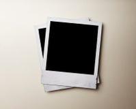Foto polaroid Fotografía de archivo