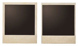 Foto-Polaroidrahmen der Weinlese sofortige Stockbilder