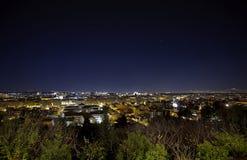 Roma entro la notte Immagine Stock