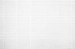 Foto real de alta resolução da parede branca da telha Fotos de Stock