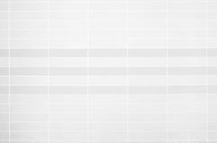 Foto reale di alta risoluzione della parete bianca delle mattonelle Fotografie Stock Libere da Diritti