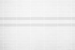 Foto reale di alta risoluzione della parete bianca delle mattonelle Fotografie Stock