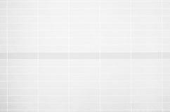 Foto reale di alta risoluzione della parete bianca delle mattonelle Immagini Stock Libere da Diritti