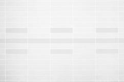 Foto reale di alta risoluzione della parete bianca delle mattonelle Immagine Stock Libera da Diritti