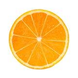 Foto-realistische orange Scheibe Lizenzfreies Stockfoto