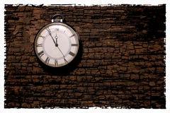 Foto retra abstracta del fondo del reloj Vintage viejo y polvoriento fotografía de archivo libre de regalías