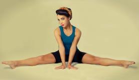 Foto retro famoso da pose Foto de Stock Royalty Free