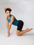 Foto retro famoso da pose Imagens de Stock Royalty Free