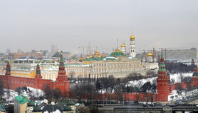 Foto Retro- Moskau der Kreml Stockbild