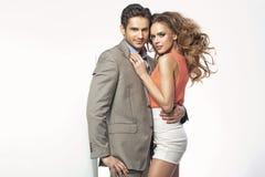 Foto romântica de um par novo imagem de stock royalty free
