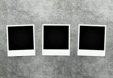 Foto's op concrete achtergrond vector illustratie