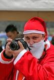 Foto Santa Arkivbild