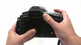 Foto-Schießen stock footage