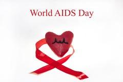 Foto SIDA del extracto del día del International Imagenes de archivo