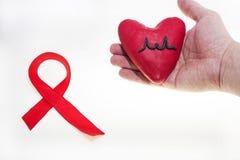 Foto SIDA del extracto del día del International Fotografía de archivo