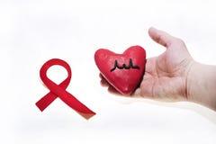 Foto SIDA del extracto del día del International Foto de archivo libre de regalías