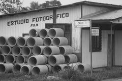 Foto-Studio auf Allee 0 lizenzfreies stockbild