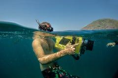 Foto subacquea Fotografie Stock