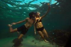 Foto subacquea Fotografia Stock