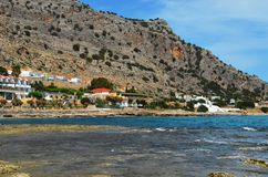 Foto tomada na ilha grega do Rodes Imagem de Stock
