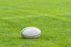 Foto tomada no treinamento do rugby Foto tomada no fósforo do rugby fotos de stock