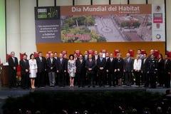 Foto ufficiale del giorno dell'habitat del mondo Immagine Stock Libera da Diritti